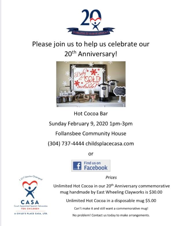 CASA 20th Anniversary Party 2020