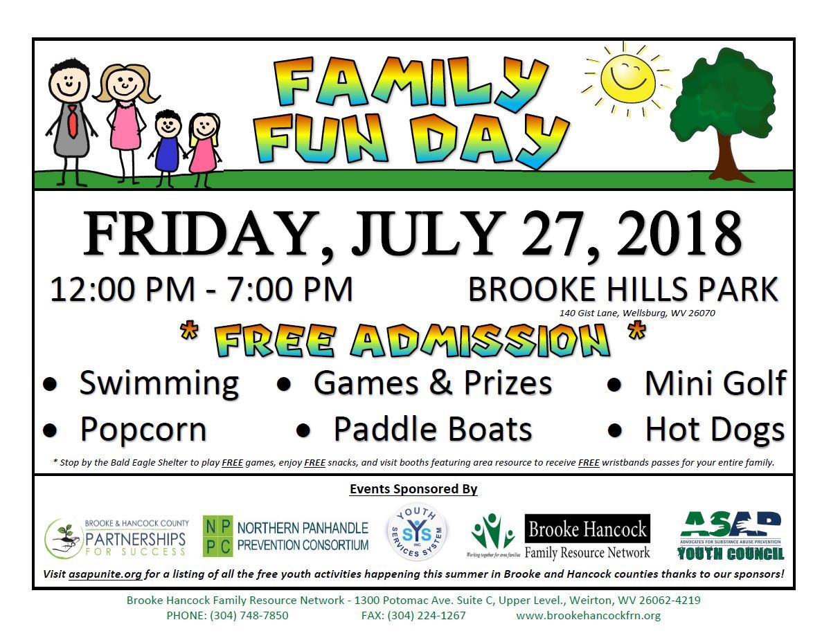 Family Fun Day Brooke Hills Park
